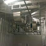Impianto estrazione Battery Room