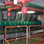 Centrale distribuzione acqua refrigerata