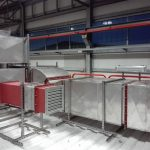 HVAC Ductwork for UPS module