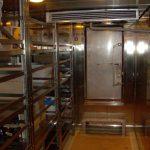 Interno magazzino refrigerato +10°C