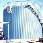 Isolazione cisterna Biogas